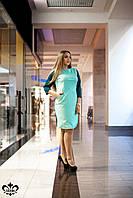 "Платье ""Люксор"" (мята+зел. сапфир), фото 1"