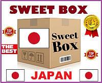 Японско - американский Свит Бокс - подарочный набор оригинальных сладостей и напитков из Японии и США