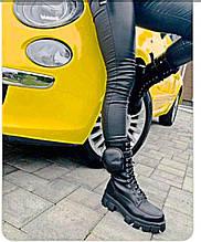 Женские ботинки в стиле Prada