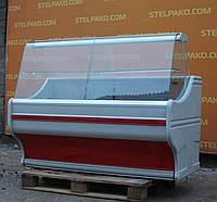 Холодильная витрина охлаждаемая «Bochnia WCh 16 Gf» 1.6 м., (Польша), LED – подсветка, Б/у, фото 1