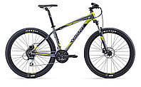 Велосипед Giant Talon 27.5 4 серый 2016