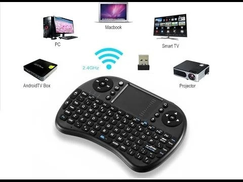 Клавиатура беспроводная для Smart TV MWK8  i8 + touch для компьютеров приставок TV на ОС Android (2231yop)