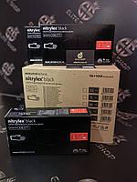 Сертифицированные нитриловые перчатки чёрные Nitrylex Mercator не стерильные, смотровые, неопудренные!