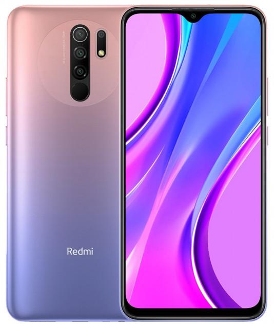 "Смартфон Xiaomi Redmi 9 4/64Gb Pink, 13+8+5+2/8Мп, Helio G80, 2sim, 6.53"" IPS, 5020 mAh, 4G"
