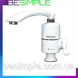 Проточный водонагреватель Delimano MP 5275 / Кран водонагреватель
