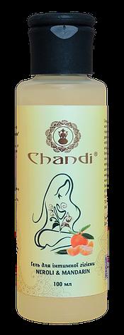 """Гель для інтимної гігієни Chandi """"Неролі та мандарин"""", 100мл, фото 2"""