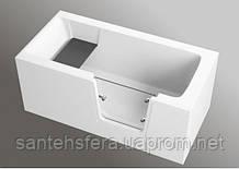 Прямоугольная акриловая ванна Polimat AVO 140 x 70 см 00306