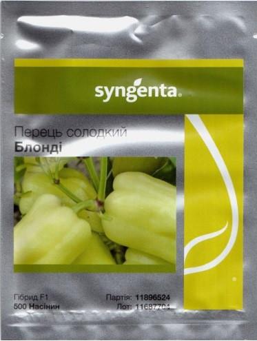Семена перца Блонди F1 500 шт, Syngenta