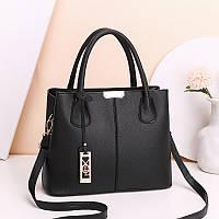 Женская вместительная сумка на плече, сумка из кожзама FS-3709-10, фото 1