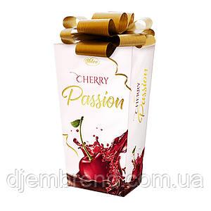 Шоколадні цукерки Vobro Cherry Passion з бантиком, 196 гр.