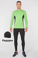 Мужской спортивный костюм для бега Rough Radical Intensive(original) компрессионная одежда,тайтсы+рашгард