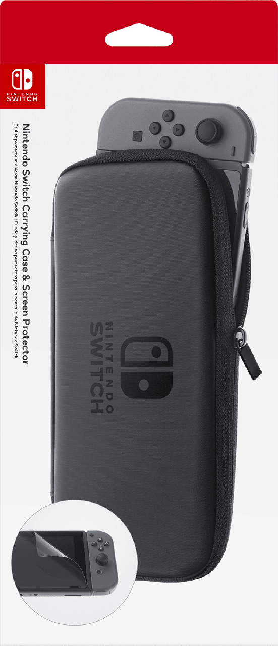 Чехол и защитная плёнка Nintendo Switch