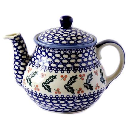 Заварочный керамический чайник 1,5L Oak leaves, фото 2