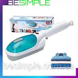 Ручний відпарювач щітка для одягу Tobi (Тобі) Steam Brush / Парова праска / Парова щітка / Пароочиститель