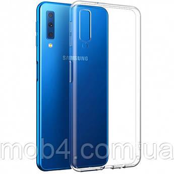 Силиконовый прозрачный чехол для Samsung Galaxy (Самсунг Гелекси) A7  2018 A750