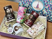 Новорічний набір шоколадів (картонна коробка), фото 1