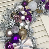 Новогодний, рождественский веночек, фото 2