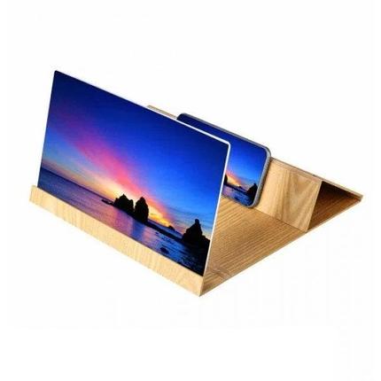 3D Увеличитель экрана смартфона | Подставка для увеличения изображения для телефона | Enlarge screen magnifier, фото 2