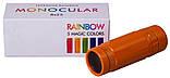 Монокуляр 8x25 Levenhuk Rainbow Sunny Orange, фото 3