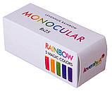 Монокуляр 8x25 Levenhuk Rainbow Sunny Orange, фото 7