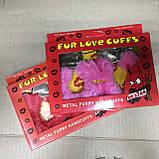 Наручники с мехом для влюбленных в подарочной коробке, фото 4