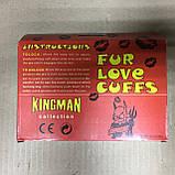 Наручники с мехом для влюбленных в подарочной коробке, фото 5