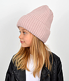 Детская зимняя теплая шапка для девочки, фото 6