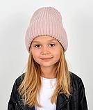Детская зимняя теплая шапка для девочки, фото 7