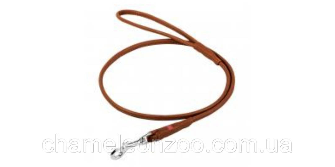 Поводок Collar Soft круглый 122 см 10 мм Коричневый (04846)