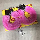 Наручники с мехом для влюбленных в подарочной коробке, фото 2