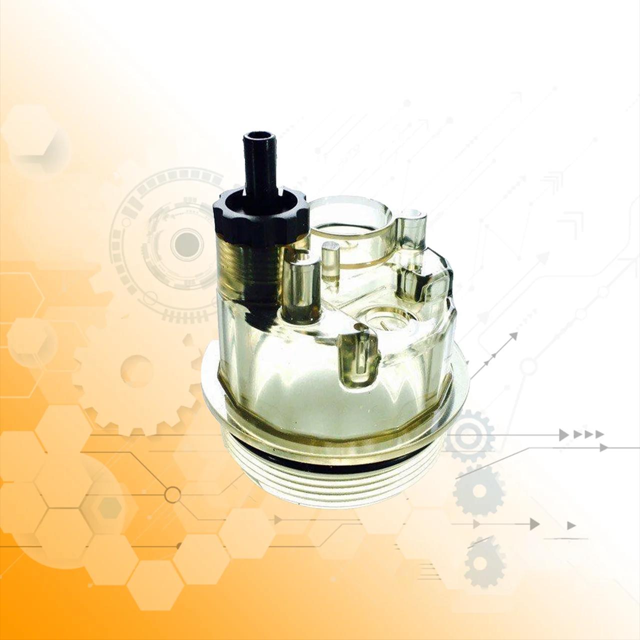 Стакан сепаратора (колба, отстойник) фильтров PL270x, PL420x,КамАЗ евро2, DAF,MAN