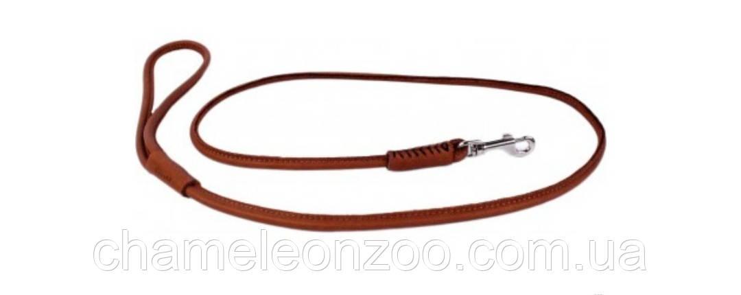 Поводок Collar Soft круглый 122 см 6 мм Коричневый (04916)