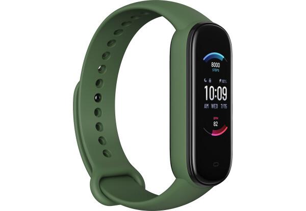 Фитнес-браслет Amazfit Band 5 Olive счетчик калорий, шагомер, пульсометр, голосовой помощник