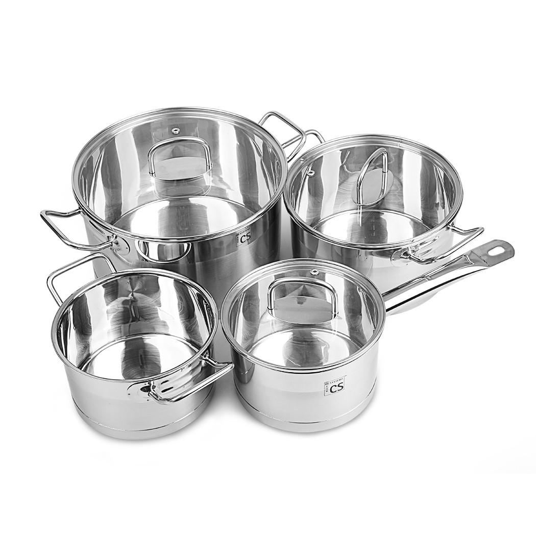 Набор посуды из нержавеющей стали CS-Kochsysteme Herten 060787 7шт.