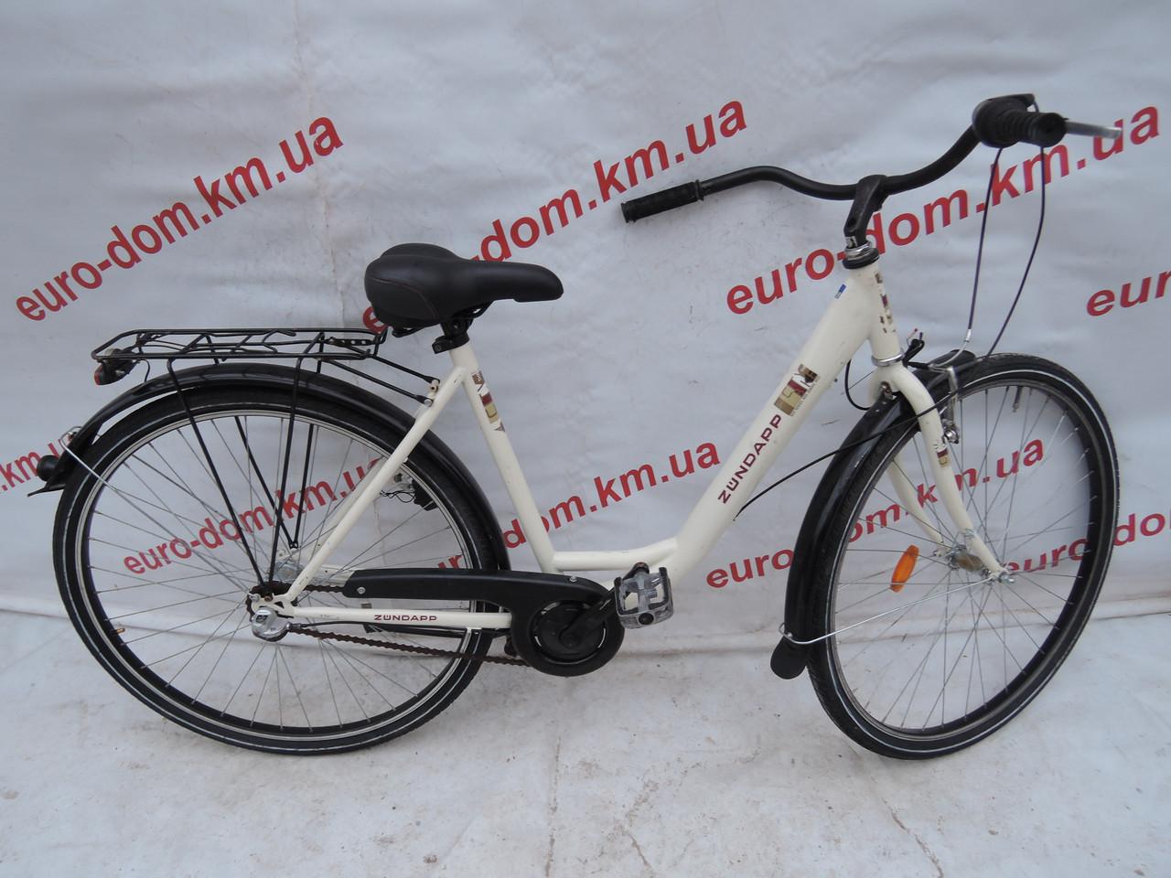 Городской велосипед Zundapp 28 колеса 3 скоростей на планитарке