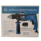 Дрель ударная Kraissmann 1200 DBH 16 (16 патрон), фото 5