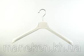 Плечики широкие ВОП 42/4 белый(кремовый), фото 2