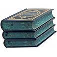 """Збірка книг в трьох томах в шкіряній палітурці """"Зібрання творів"""" А.С. Пушкін, фото 6"""