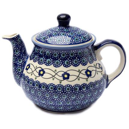 Заварочный керамический чайник 1,5L Барвинок, фото 2