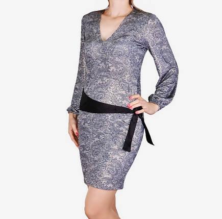 Платье микромасло с поясом (арт. WZ1515), фото 2