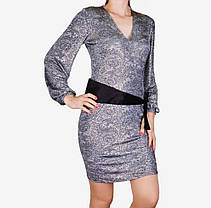 Платье микромасло с поясом (WZ1515) | 3 шт., фото 3