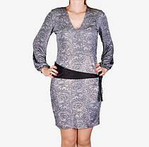 Платье микромасло с поясом (WZ1515) | 3 шт., фото 2