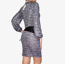 Платье микромасло с поясом (арт. WZ1515), фото 3