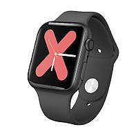 Розумні годинник IWO 11 з бездротовою зарядкою (Чорний)