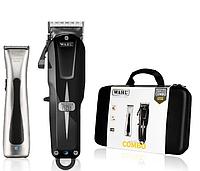 Набор машинок Wahl Cordless Combo: Super Taper Cordless Black + Beret ProLith в кейсе 08592-016H, фото 1