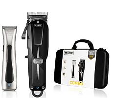 Набір машинок Wahl Cordless Combo: Super Taper Cordless Black + Beret ProLith в кейсі 08592-016H