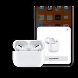 Беспроводные Bluetooth наушники AirPro в зарядном кейсе, белые, фото 5
