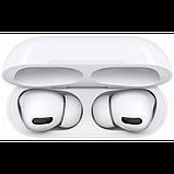 Беспроводные Bluetooth наушники AirPro в зарядном кейсе, белые, фото 4