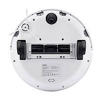 Умный робот-пылесос 360 Robot Vacuum Cleaner S5 White сухая уборка для дома, фото 3