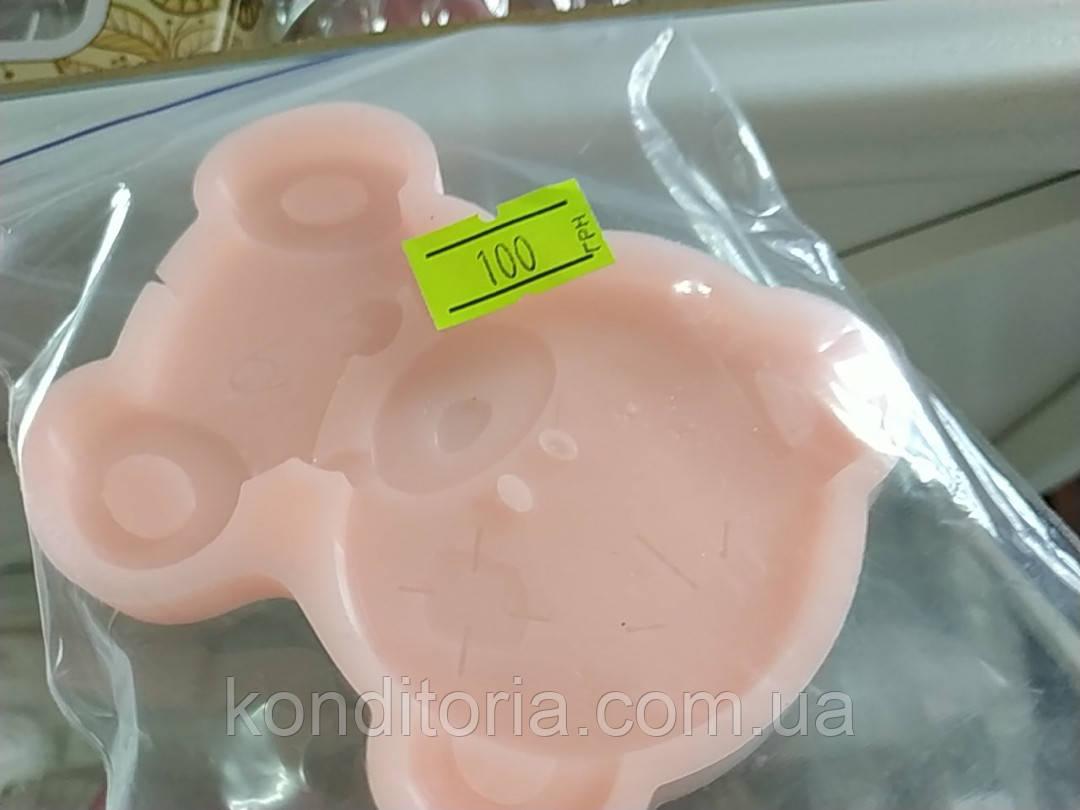 Форма силиконовая мишка